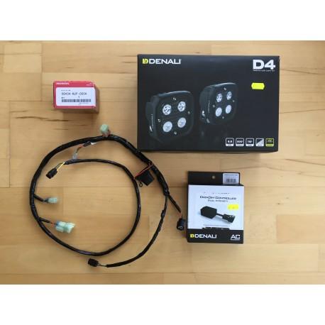 DENALI 2.0 D4 TriOptic Africa Twin CRF1000L plug and play LED Lights & DataDim