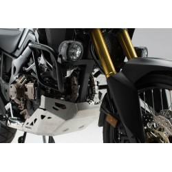 SW-MOTECH HAWK light mount, black. For Honda CRF1000L (15-) without Crashbar.