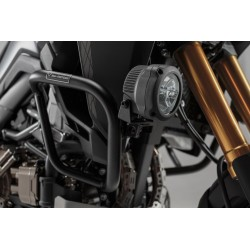 SW-MOTECH HAWK light mount, black. For Honda CRF1000L (15-) with Crashbar.