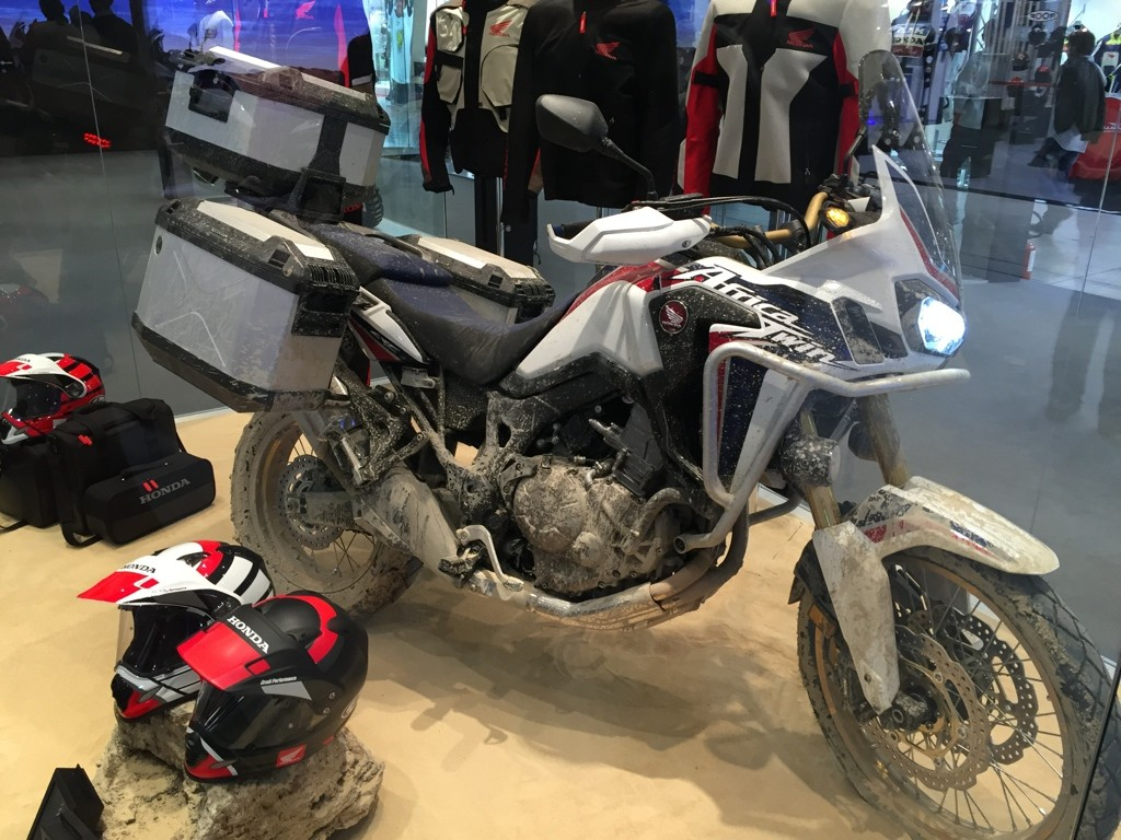 CRF1000L Africa Twin Genuine Accessories